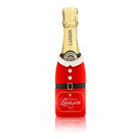 Limited Edition Santa Mini Lanson Black Label, Brut, 20cl Champagne - PRE Order available from NOVEMBER 26th